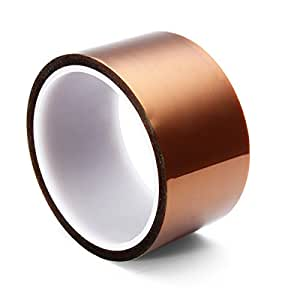 Gaoxing Tech. 5 Taille 5mm 10mm 20mm 30mm 50mm 30m 100ft BGA Film haute température Résistant à la chaleur Polyimide Kapton Ruban résistant à l'eau Sticky