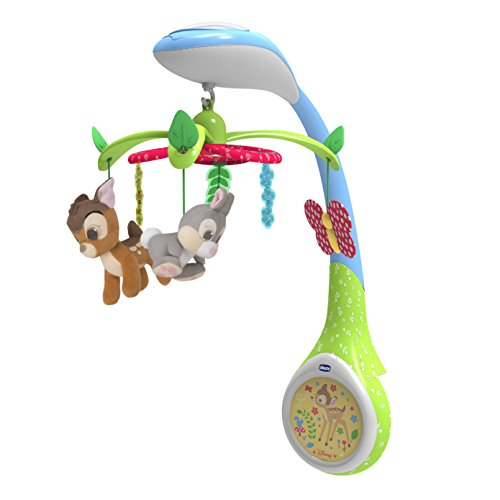 Chicco 00007156000000 baby hanging toy - baby hanging toys (Baby cot, Multicolour, Bambi, Any gender)