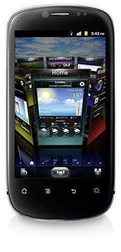 Huawei Vision U8850 Smartphone (9,4 cm (3,7 Zoll) Display, 5 Megapixel Kamera, 1 GB Intern Speicher, Android 2.3) Silber/Schwarz -
