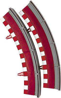 Scalextric Borde valla curva standard universal 2