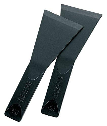 kela Raclettespateln-Set Pillon 8-teilig as Nylon in schwarz, 13 x 5 x 2 cm