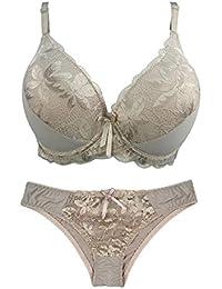 fc32f677bf50 La Dearchuu Minimizer Underwear Bra Underwire Bra 34B 36B 38C 40C Bikini  Comfort Bras for Women
