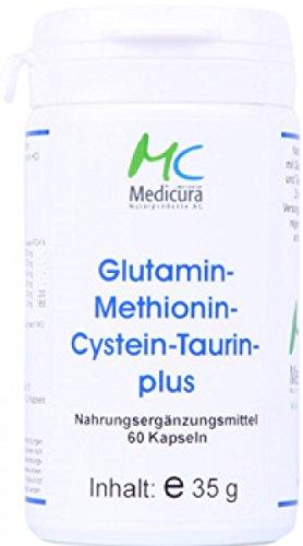 Glutamin-Methionin-Cystein-Taurin plus 60 Kapseln/ Dose