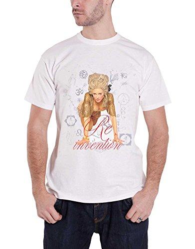 71ed4c969 Madonna T Shirt Re-Invention Tour LA 2014 Nouveau Officiel Homme