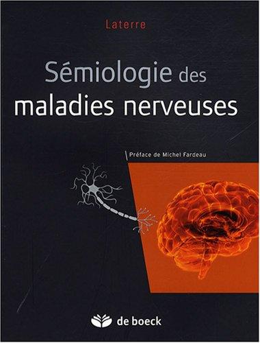 Sémiologie des maladies nerveuses