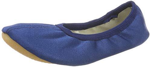 Beck Basic 070, Mädchen Sportschuhe - Gymnastik, Blau (Dunkelblau), 34 EU