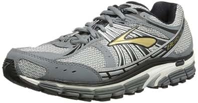 Brooks Beast 12 Men Wide, Men's Running Shoes, Gold/Pavement/Black/Silver/White 7 UK Wide