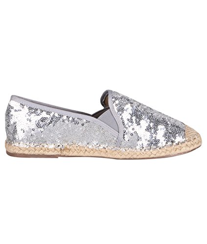KRISP-Femme-Espadrilles-Imprim-Fleuri-Chaussures-Plates-Dentelle-Glitter-Original