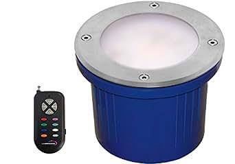 Lumihome RGB/GL144 Spot Encastrable 144 LED SMD + Télécommande Rf Gris
