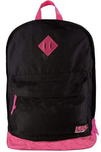 Henleys , Damen Rucksackhandtasche schwarz schwarz One Size Schwarz