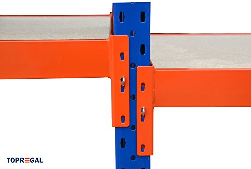 Werkbank fahrbar, Packtisch mit Holzboden verschiedene Breiten/Höhen/Tiefen/Ebenen (120/104/60cm (B/H/T), 2 Ebenen) - 3