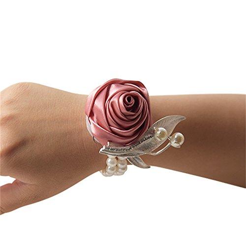 Hengbaixin Brosche für Brautschmuck, Brautschmuck, Brautschmuck, Blume, kleines Geschenk, europäisches Modell, Handgelenk, Blume, europäisches Gold,