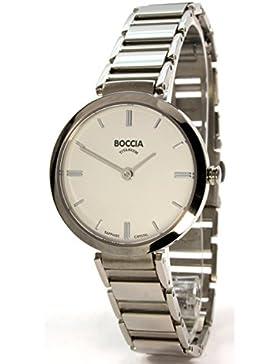Boccia Damen-Armbanduhr Analog Quarz Titan 3252-01