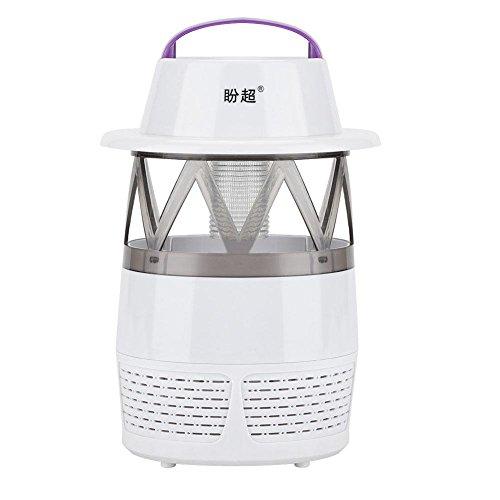 Kids Insektenschutz Spray (Fdit LED-Licht, Moskito-Mörder Insekten Zapper Fliegenfalle Insektenvernichter Insektenvernichter ohne Gefahr für Babys weiß)