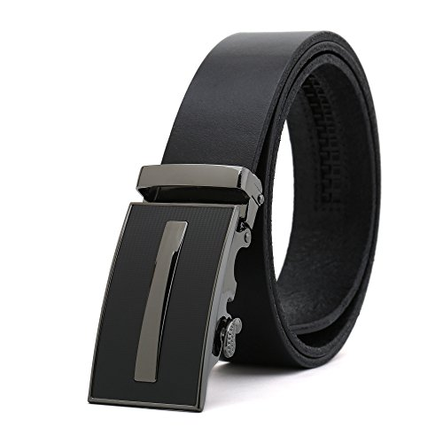 Weinida Men Business Casual Clothing Clothes Belt Leather Belts 35mm Waist 90cm-110cm