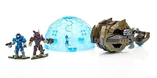 Mattel Mega Bloks DPJ91 Halo Brute Chopper Raid, BAU und Konstruktionsspielzeug (Mega Blocks Halo-waffen)