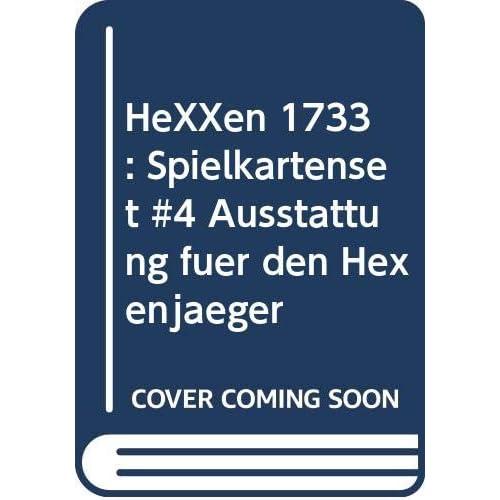 HeXXen 1733: Spielkartenset #4 Ausstattung für den Hexenjäger