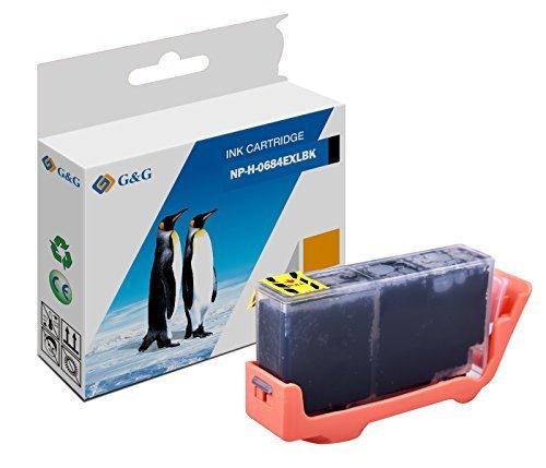 Premium G&G Druckerpatrone schwarz kompatibel für HP CN684E (22ml)