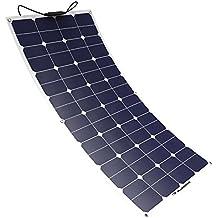 ALLPOWERS 12V 18V 100W Solar Panel SunPower Célula Placa Solar Portatil Flexible Fotovoltaico Módulo Cargador Batería