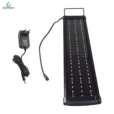 La lumière d'aquarium de LED 60~80cm 5 Couleurs la lumière de Corail menée élèvent la lumière de réservoir de Poissons de lumière de Lampe de Corail for l'usine d'aquarium d'eau Douce Lampes de rése