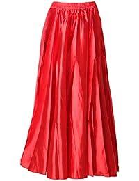 443d343ac Amazon.es: faldas largas - Rojo / Vestidos / Mujer: Ropa
