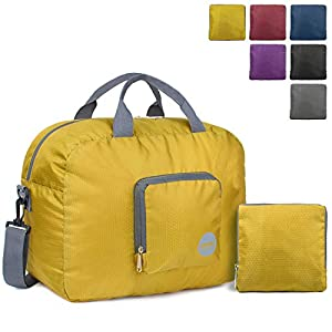WANDF – Bolsa de Viaje, Color Yellow 25l, tamaño 25 L