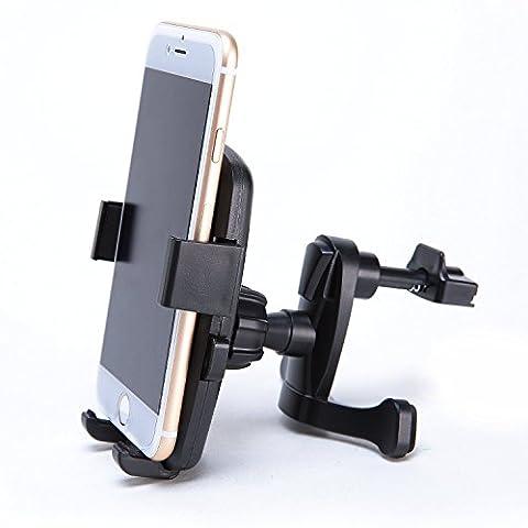 KFZ Handyhalterung mit Kugelgelenk zur Montage am Lüftungsschlitz für Smartphone