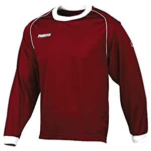 Prostar Classic Kids Teamwear Jersey - Maroon/White, 24/26 Inch