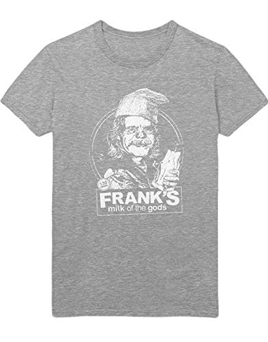 HYPSHRT Hombre T-Shirt Shameless Milk of The Gods C000412 Gris XXXL