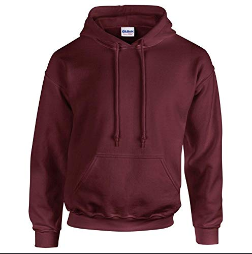 Gildan Heavy Blend Kapuzen-Sweatshirt 18500, Bordeaux, 2XL