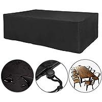 iisport Large Patio Set Cover, Waterproof Outdoor Garden Furniture Cover, Rectangular, 270x180x89cm