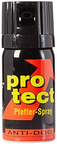 BlackDefender 3 Stück Pfefferspray Protect (40ml) extra stark -Breitstrahl -