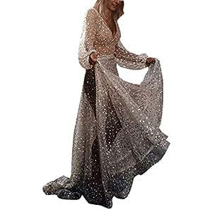 0f31544135e PowerFul-LOT Robe ete Femme Sexy Robe Vintage Femmes Vintage Sexy ...