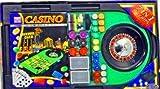 Großes 7 in 1 Casino Spiel Set - mit Roulette, Craps, Baccarat u.A. von Idee+Spiel