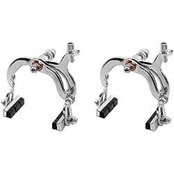 2x Frenos Freno Delantero y Trasero de Herradura en Acero para Bicicleta 2997_2