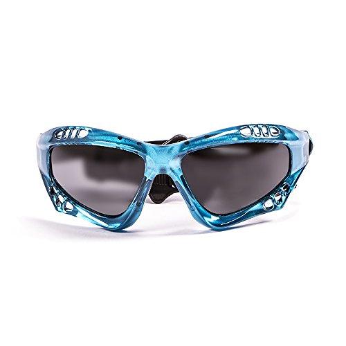 OCEAN SUNGLASSES - Australia - lunettes de soleil polarisÃBlackrolles  - Monture : Bleu Transparent - Verres : FumÃBlackrolle (11700.6)