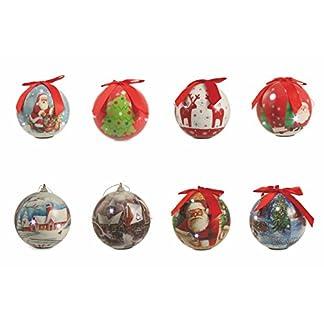 Galileo Casa – Surtido de Bolas de Navidad LED, de poliestireno, Multicolor, 24 x 10 x 10 cm, cód. 2408978