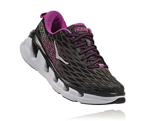 Hoka One One Vanquish 2 Donna Black/Fuchsia EU 37 1/3 USA 6 UK 4.5 Japan 23