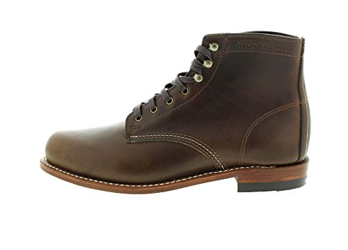 1000 Mile Brown Boots Olive Olive Dark 1000 Mile Leather Wolverine Premium Oda1nSO