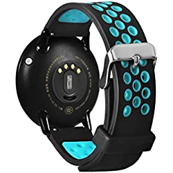 Reloj Inteligente Xinan Impermeable Smart Band, Monitor de Ritmo Cardiaco, Monitor de Sueño. Reloj Inteligente Fitness Tracker Smart Band para Xiaomi HUAMI AMAZFIT A1602 (❤️Azúl)