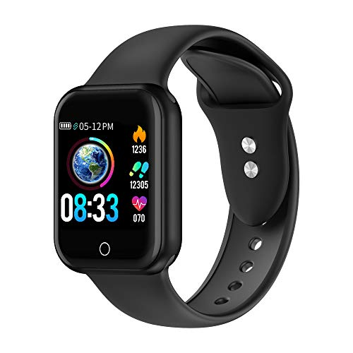 Smartwatch, Fitness Armband Wasserdicht IP68 Sport Uhr mit Blutdruckmessung, Pulsuhren, Schrittzähler, Kalorienzähler, 1.4 \'\'Color Screen Bluetooth Smart Watch für Damen Herren Aktivitäts Tracker