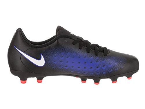 Nike 844204-016, Chaussures de Football Garçon Noir (Black/white/paramount Blue/hyper Orange)