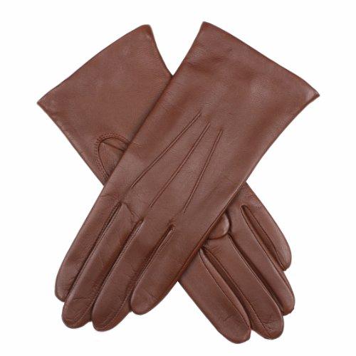 Dents Damen Handschuh, Braun (Chestnut), 42 (Herstellergröße: 8 UK) (Buxton Leder Braun)