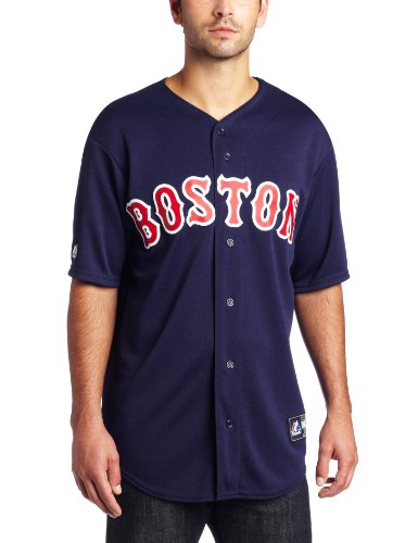 majestic On Field Replica Boston Red Sox navy