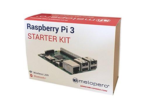 41d1fA5nkOL - Raspberry Pi 3 Official Starter Kit Black, con Cargador Oficial, Caja Oficial, microSD Oficial de 16GB con NOOBS, Cable HDMI y disipadores