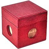 Ocamo Caja mágica Madera Brain Teaser Juguete del Rompecabezas,Cajon Secreto de Regalo Caja de joyería