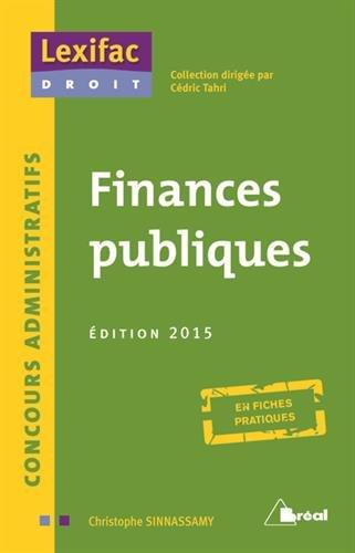 Finances publiques 2015