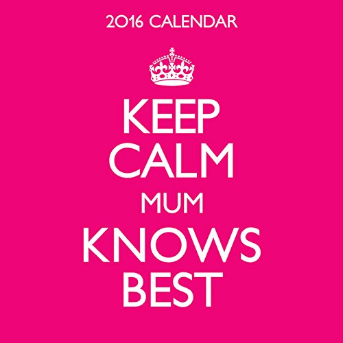 Keep Calm Carry on M 2016 Calendar (Mini)