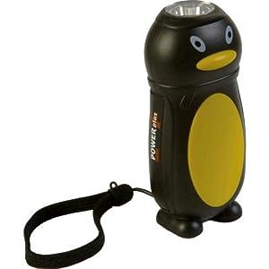 Power Plus - Lampe De Poche Dynamo Pingouin