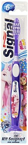 Signal Junior Zahnbürste ab 6 Jahre, 1 Stück (farblich sortiert, Farbe nicht wählbar)